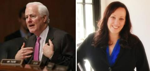 Cornyn Officially Has a Democratic Challenger for His U.S. Congressional Seat