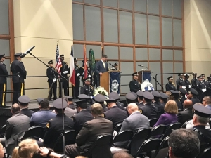Dallas Police Department Honors Fallen Officers Ahead of