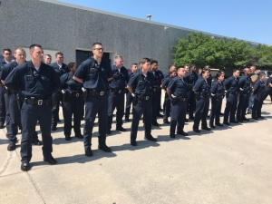 Dallas Police Welcome Largest Recruiting Class in Recent
