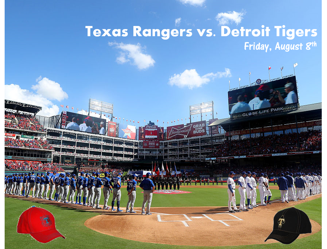 Listen to Win Texas Rangers Tickets!