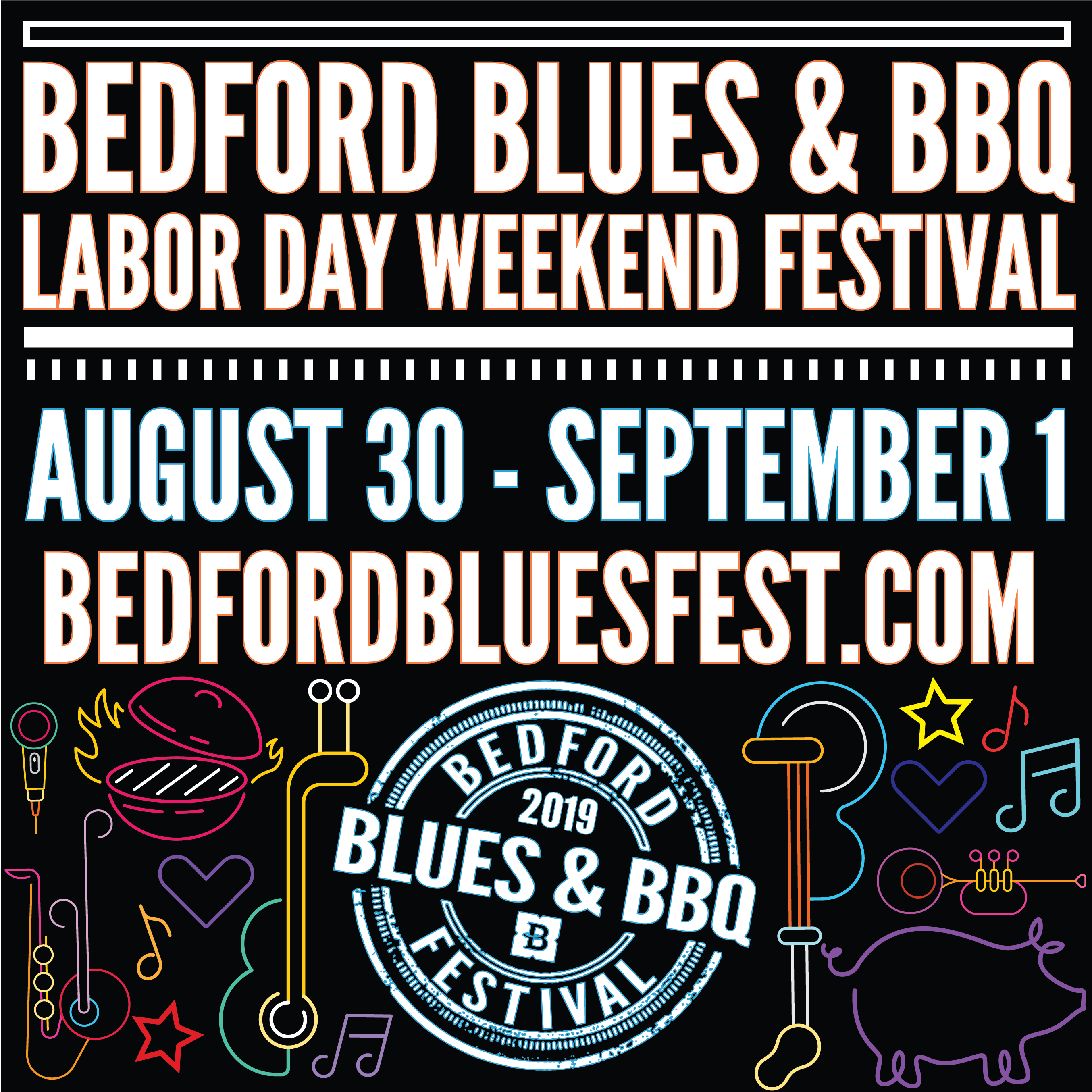 Enter for your chance to win a pair of VIP tickets to the Bedford Blues and BBQ Festival over Labor Day Weekend!