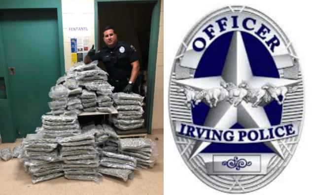 Irving Police Seized 160 Pounds of Pot Last Week