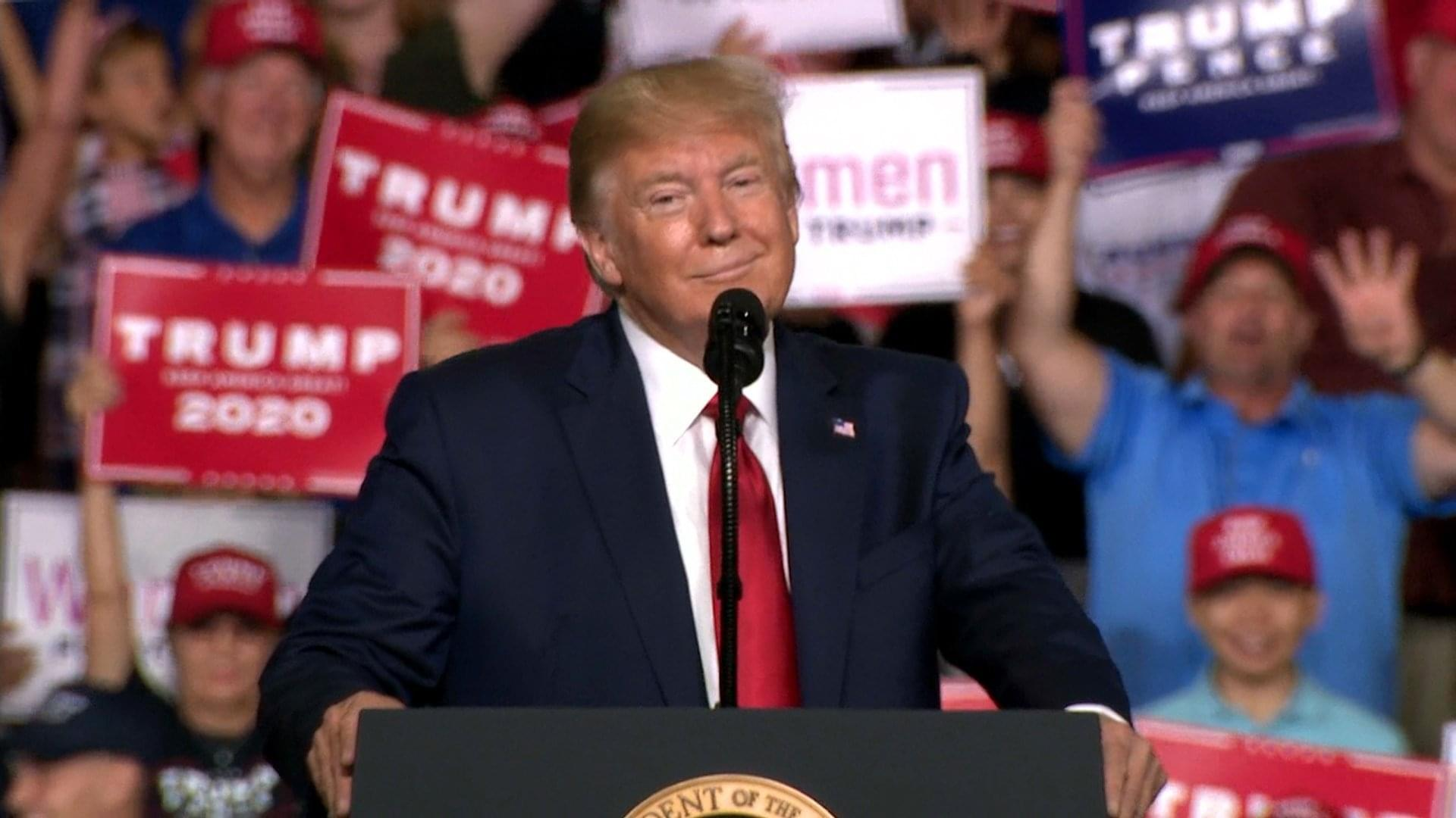 WBAP Morning News: President Trump Holds New Mexico Rally, Calls Out NYT