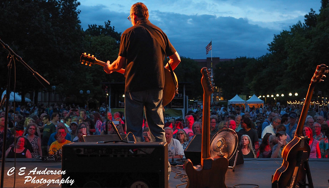 7/1/18 – George Bedard and the Kingpins, The Boa Constrictors at the Rackham Stage at Top Of the Park