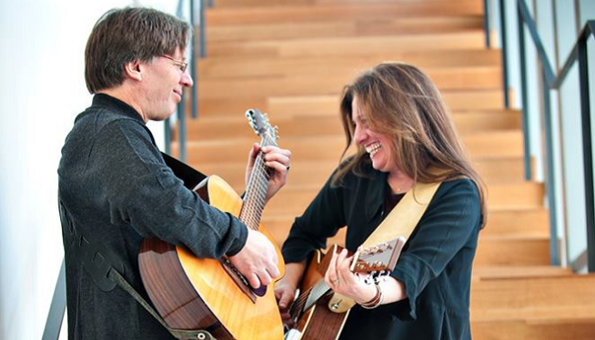 1/20/19 – Shari Kane & Dave Steel, Red Tail Ring at The Ark