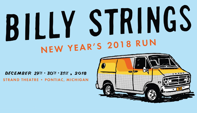 See Billy Strings at Strand Theatre
