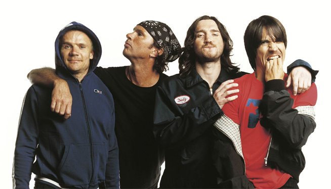Red Hot Chili Peppers: Headed to the Pyramids