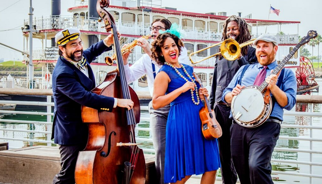 2/17/19 – Jazzy Ash and the Leaping Lizards at The Ark