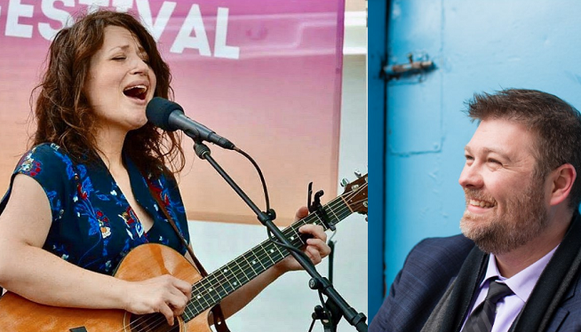 8/16/19 – Amy Petty and Adam Plomaritas at 20 Front Street