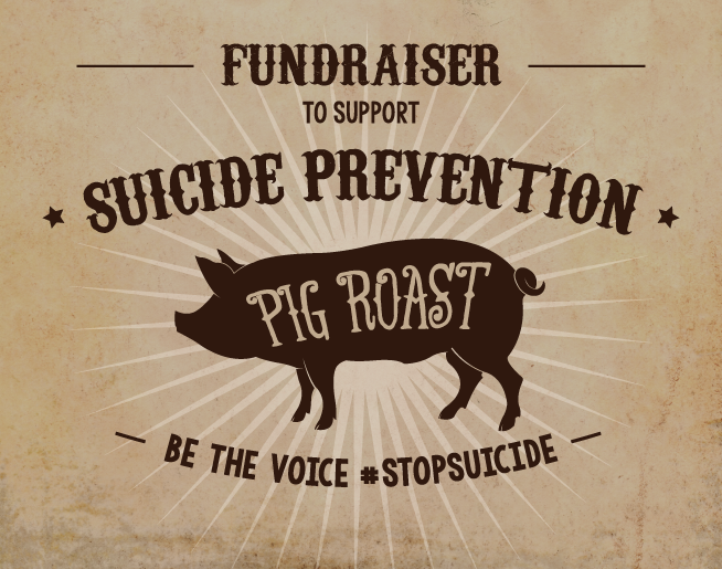 Team Jason's Pig Roast BBQ For Suicide Prevention
