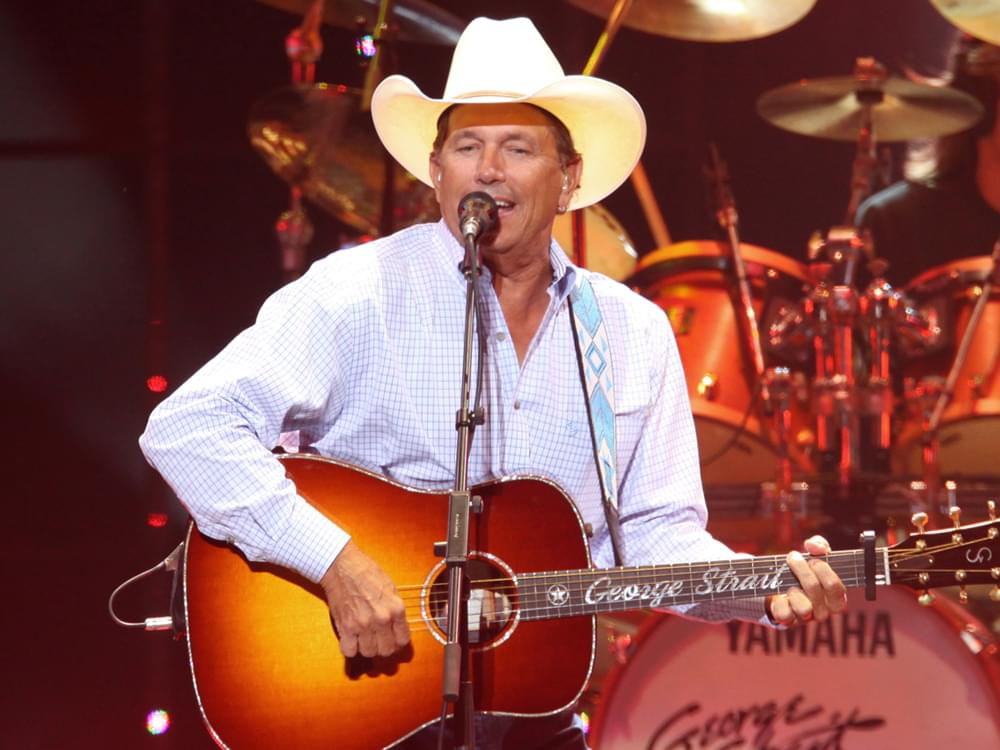 "Listen to George Strait's Heavy New Single, ""The Weight of the Badge"""