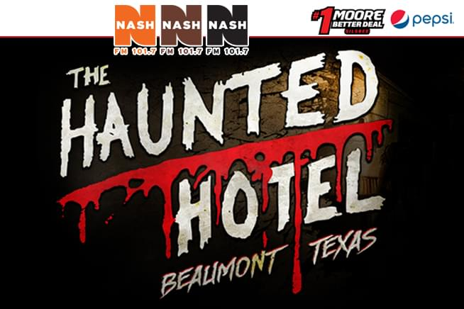 Haunted Hotel •  Thru October 13 • Downtown Beaumont