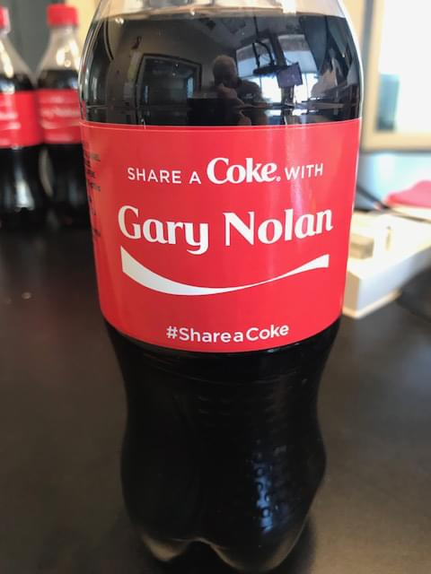 "It's National ""Have a Coke"" Day ."