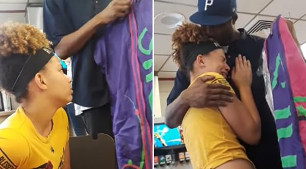 Dad Who Works Three Jobs Surprises Daughter With Dream Dress For 8th Grade Dance