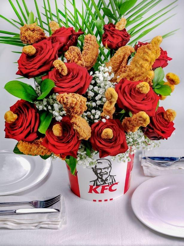 This Chicken Bouquet Is Perfect for Valentine's Day