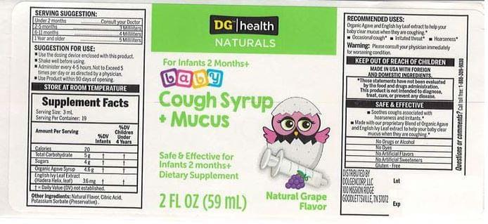 Dollar General baby cough syrup recalled due to possible health risk