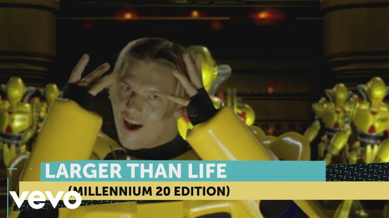 "Backstreet Boys Celebrate 20th Anniversary Of 'Millenium' With New ""Larger Than Life"" Video"