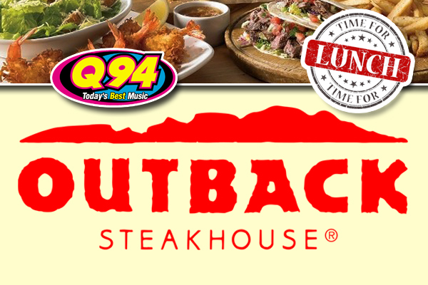 Win a FREE Lunch at Outback Steakhouse for you and your Co-workers!