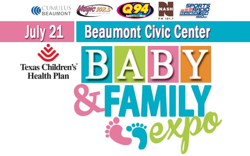 Baby & Family Expo July 21 at the Beaumont Civic Center