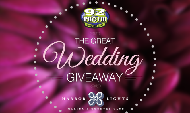 Great Wedding Giveaway Finalists Announced Wpro Fm