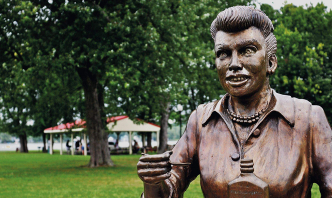 The Weirdest Statues of Celebrities