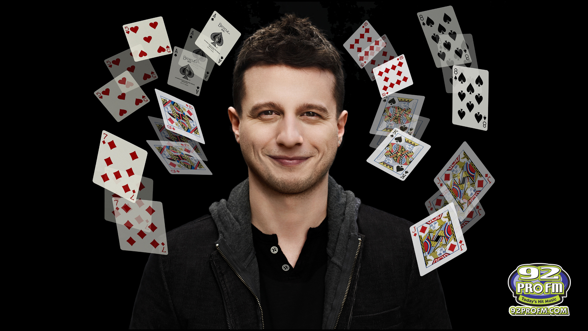 Magician Mat Franco in a Revealing Interview with 92 PRO-FM