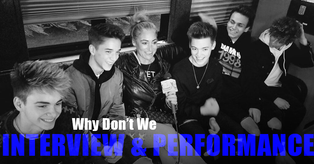 VIDEO: Why Don't We at Mulligans Island in Cranston – Performance & Interview!