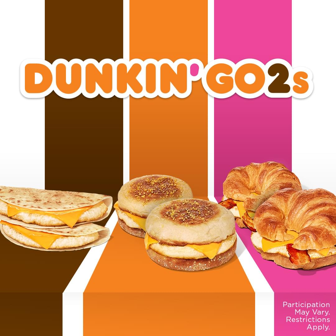 LISTEN TO WIN! Dunkin' Donuts GO-2 Song Drive Thru Lunch!