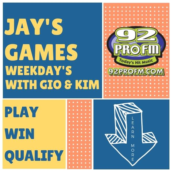 Jay's Games: Win New Kids on the Block Tickets!