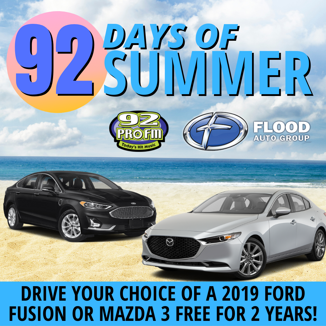 92 Days of Summer: Flood Free Ride 2019!