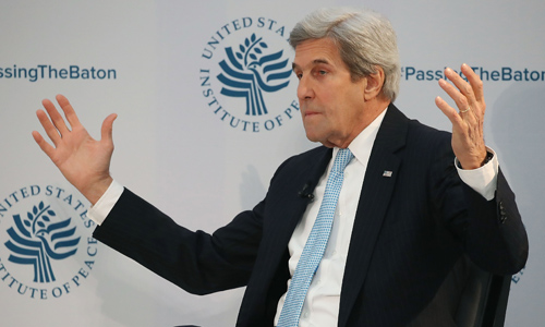 John Kerry Tells Mahmoud Abbas Ally That He Might Run For President In 2020