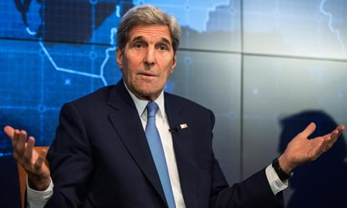 Kerry Meeting With Iran to Salvage Nuke Deal With Rogue Diplomacy