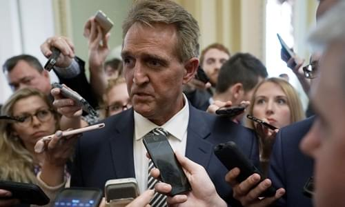 Report: Flake Wasn't Pressured, He Masterminded The Kavanaugh Delay