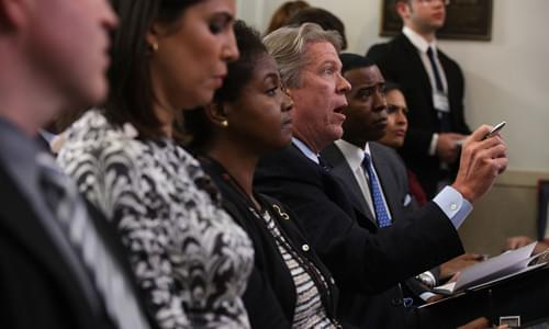 Major Garrett Throws Shade on Acosta: When President Says it's Not Your Turn, You Give Up the Mic