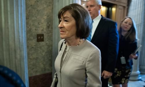 Susan Collins Votes With Democrats To Restore Rule That Allowed Obama Admin To Target Conservatives