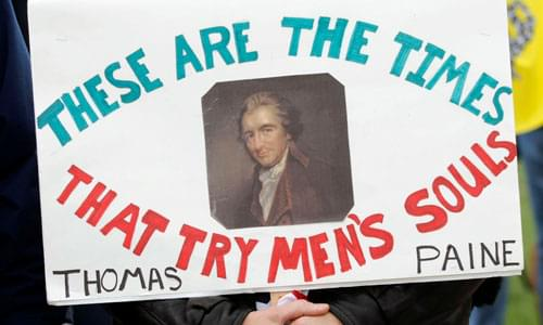 Thomas Paine Publishes American Crisis (December 19, 1776)
