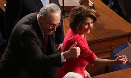 Once Upon A Time, When Schumer And Pelosi Supported Everything Trump Wants On Illegal Immigration