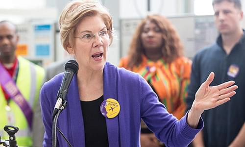 Elizabeth Warren To Propose 'Wealth Tax' On Americans With More Than $50 Million In Assets, Economic Advisor Says