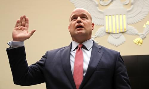 Hearing erupts as Acting AG Whitaker calls time on Dem chairman