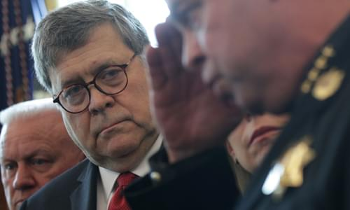 AG Barr Says Trump's National Emergency Is What The Law Was Made For, But CNN, MSNBC Refused To Air It!