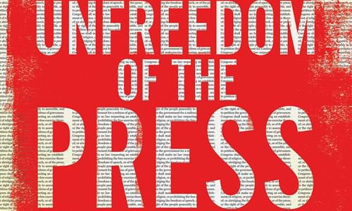 "Mark's Book Signings for ""Unfreedom Of The Press"""