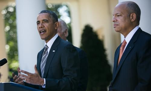 Obama's DHS Secretary Jeh Johnson: 'We Are Truly In A Crisis' At Southern Border