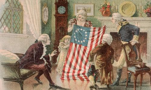 Betsy Ross was a great American