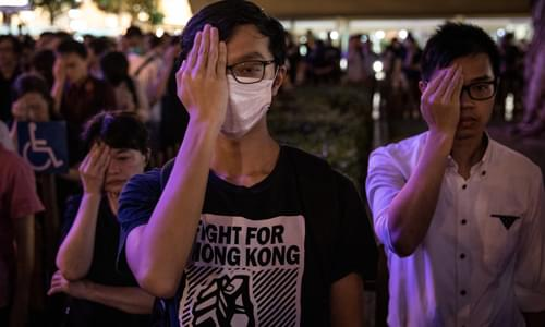 Hong Kong activists arrested including Joshua Wong in crackdown on protests