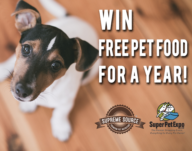 Win Free Pet Food for a Year!