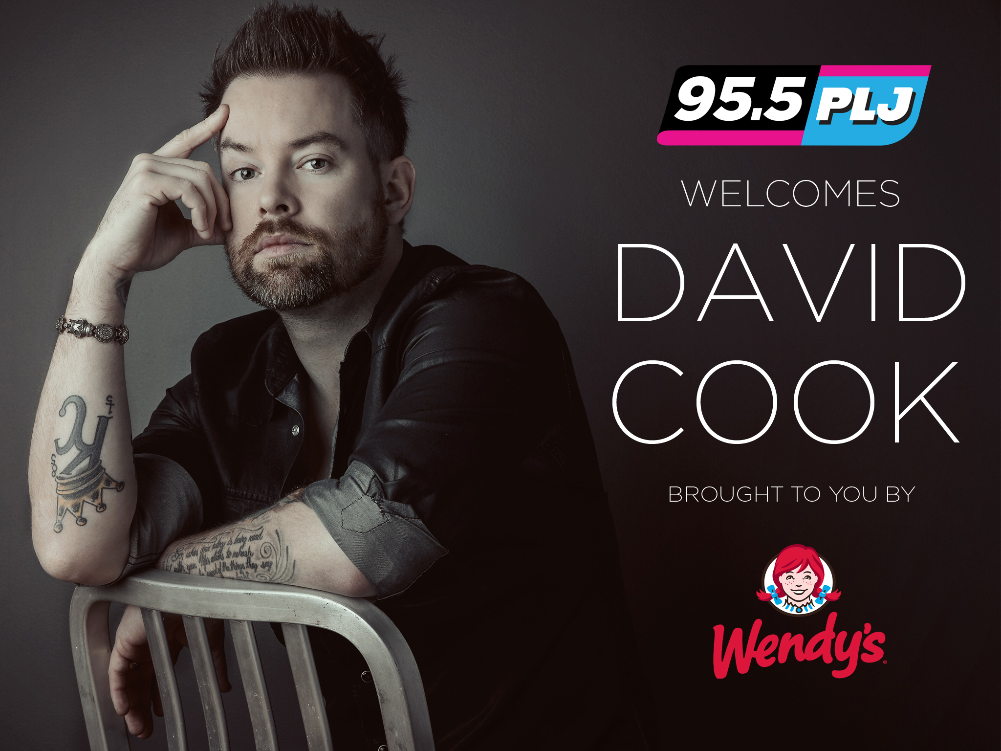 David Cook talks Wendy's! [Exclusive Video]