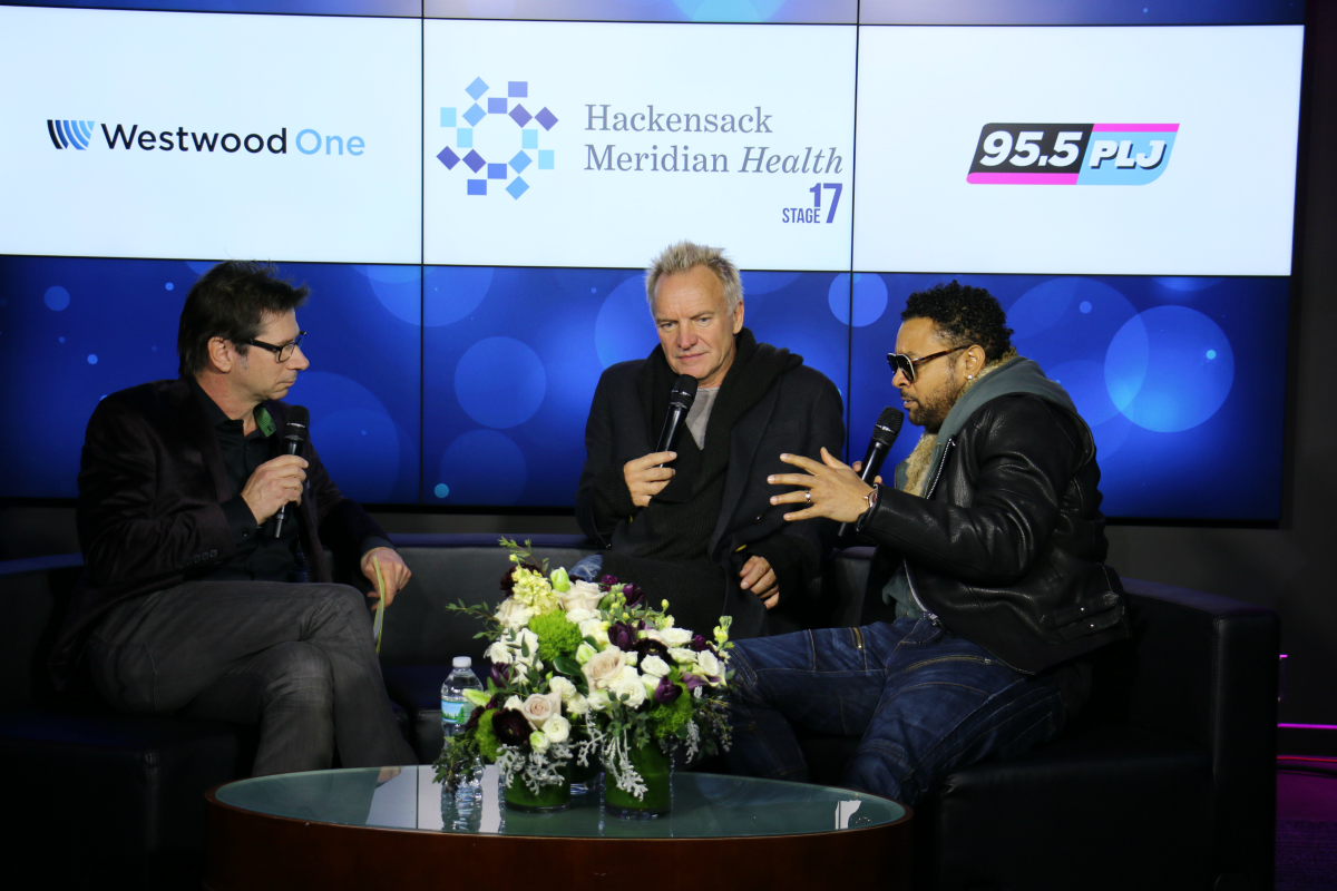 Sting and Shaggy Interview from HMH Stage 17! [Exclusive Video]
