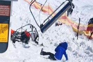 Must See Video:  Ski Lift Goes Wild