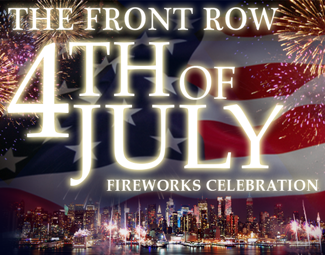 Win Tickets to the Front Row 4th of July Fireworks Celebration!