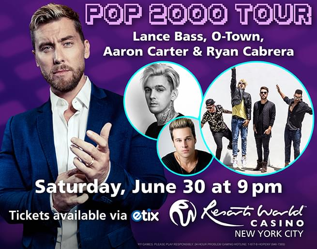 Win Tickets to the Pop 2000 Tour!